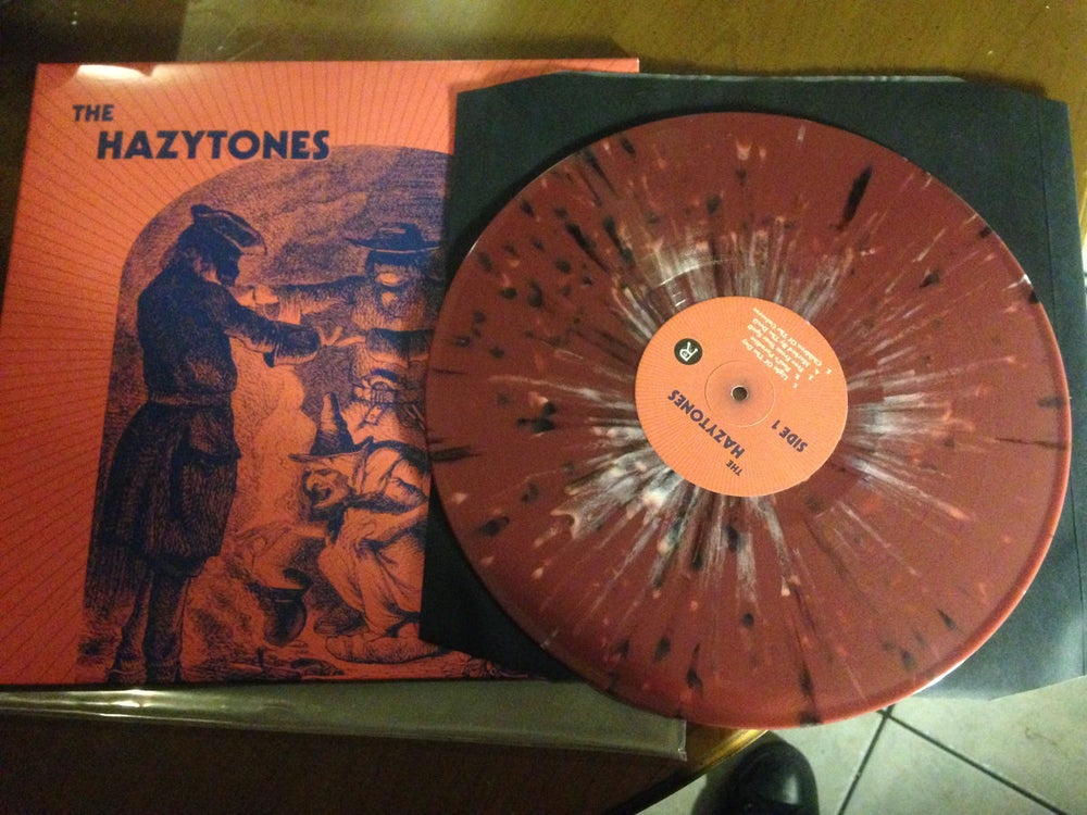 Image of The Hazytones self-titled LP - Limited Splatter Edition