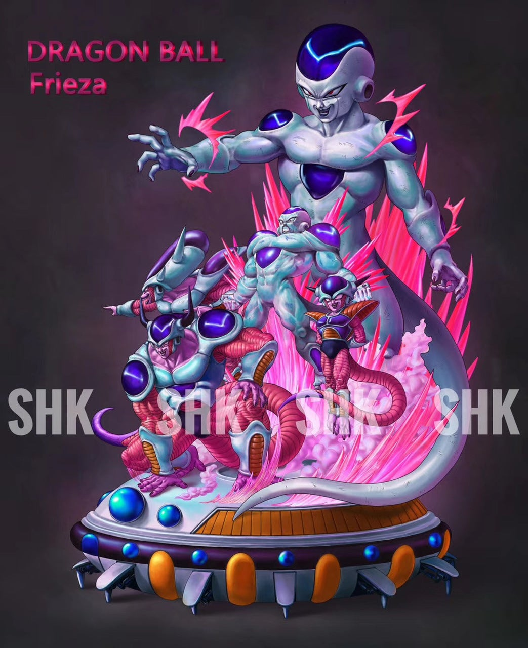Image of [PRE-ORDER] SHK Lifetime Series Frieza 1/6