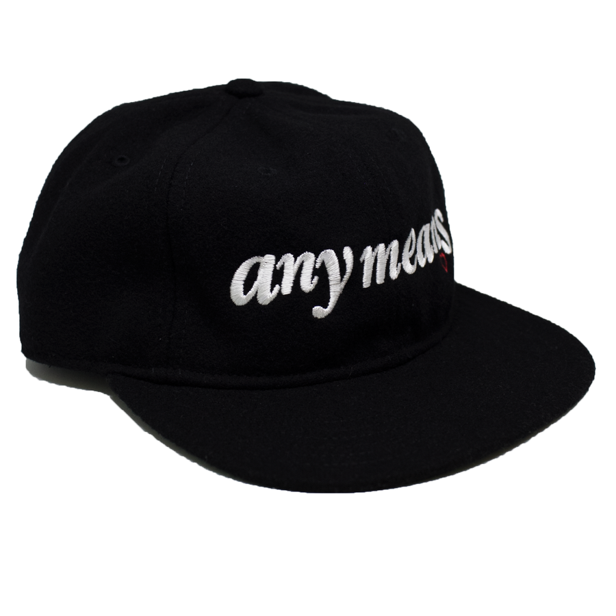 Image of Lover 6-Panel in Black Wool