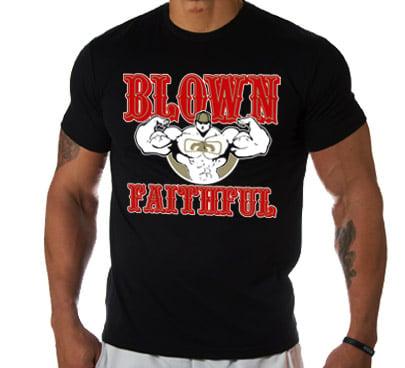 "Image of Men's LIMITED EDITION ""FAITHFUL"" T Shirt - Black"