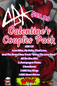 Image of ABK Valentines couple's pack.