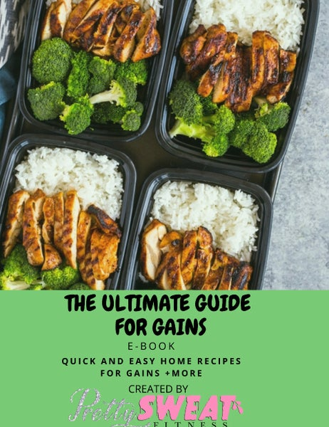 Image of PSF ULTIMATE GAINS GUIDE ( Healthy weight gain)