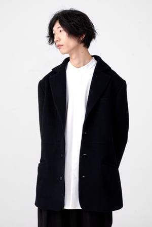 Image of TRAN - 毛料中版西裝外套