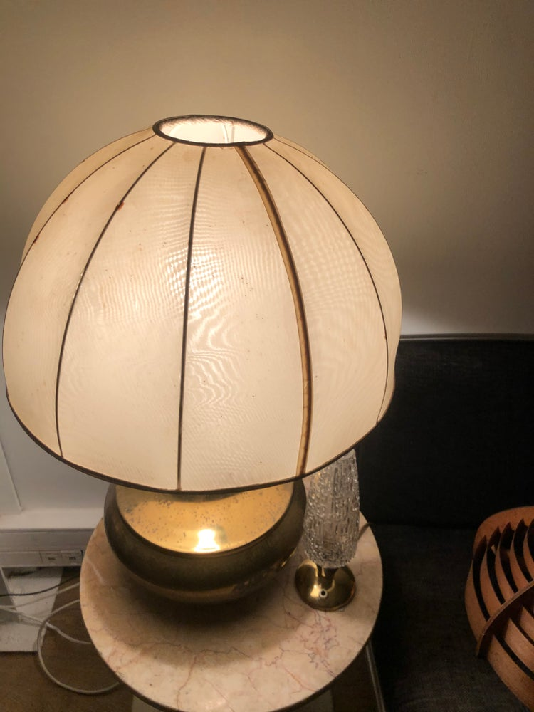 Image of Lampe pied bronze