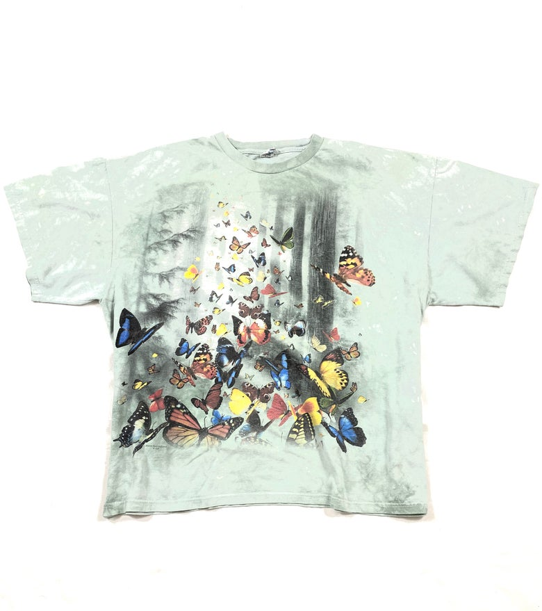 Image of Vintage Butterfly Effect Tee XL (Pre-Owned)
