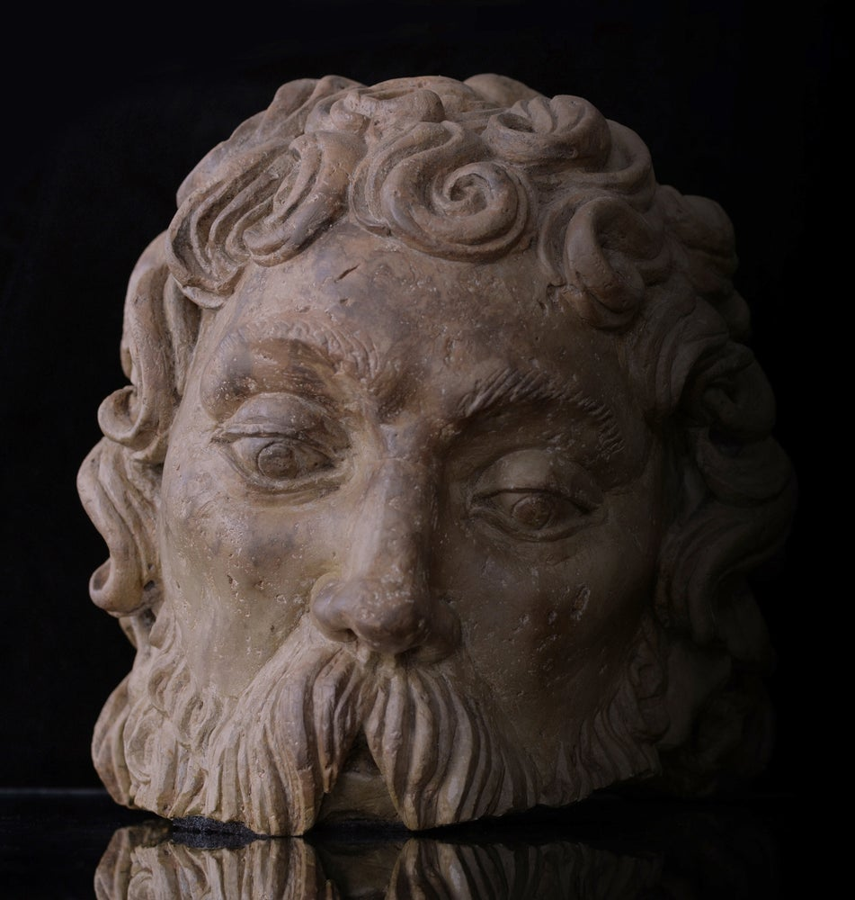 Image of Early 16th century Fragmentary Stone Bust of an Apostle or Saint