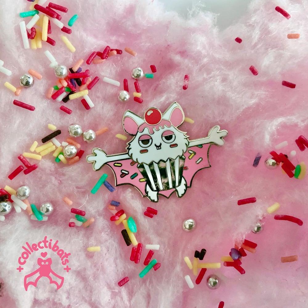 Sprinkles - Battycakes Enamel Pin