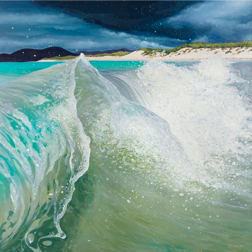 Image of Berneray wave giclee print