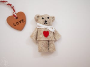 Image of Limited edition heart teddy