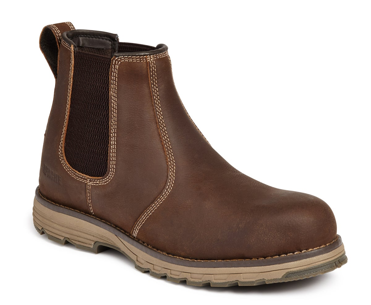 Image of Lightweight Safety Dealer Boot Brown - FLYWEIGHT DEALER S3