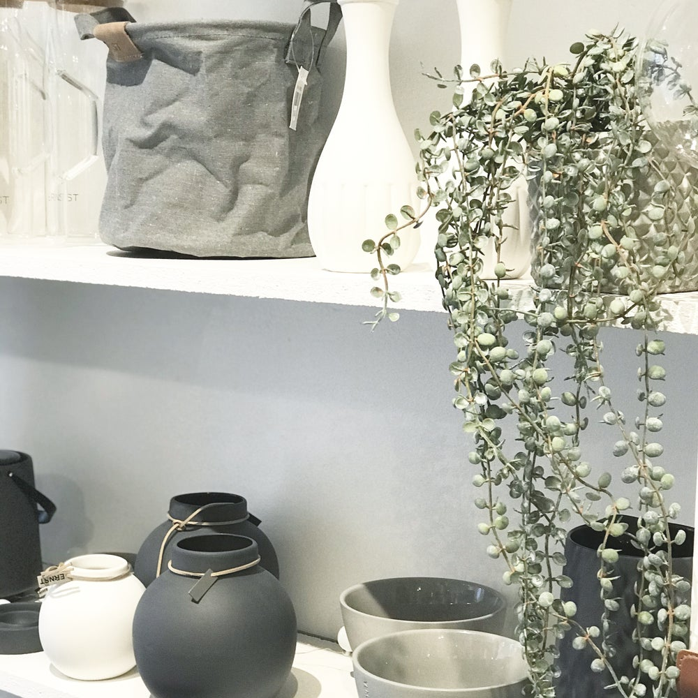 Image of HANGING FAUX PLANT