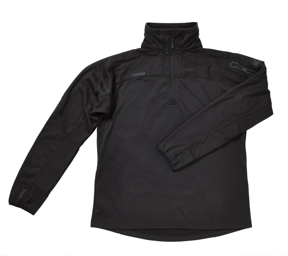 Image of ATS Mid-Layer Tech Fleece Black