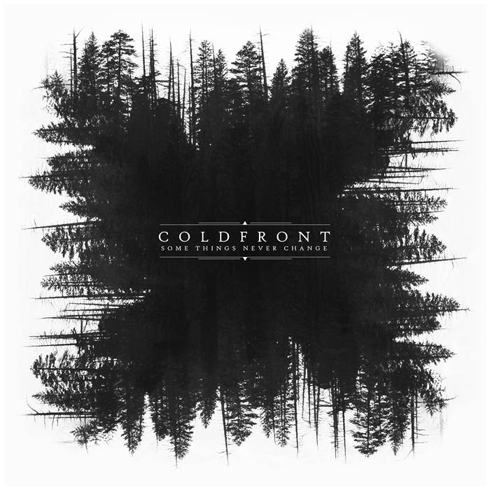 Image of Coldfront -Somethings never change vinyl record