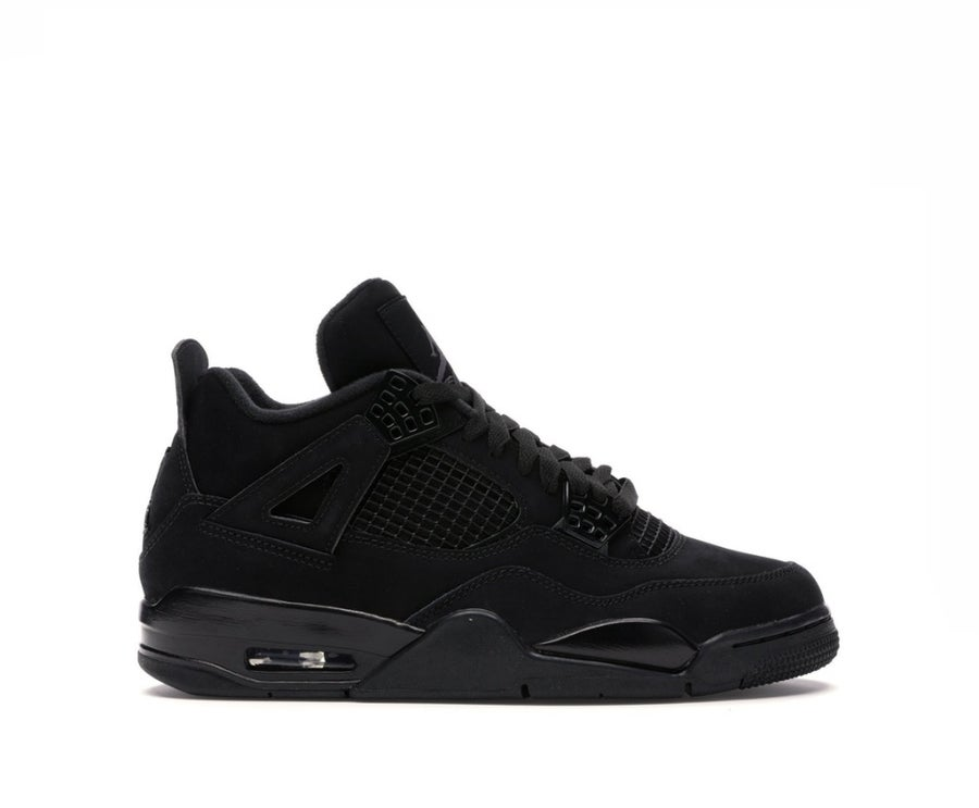 Image of NIKE AIR JORDAN 4 RETRO BLACK CAT (2020) CU1110-010