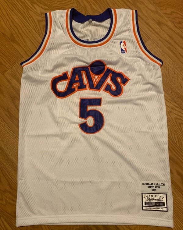 Image of 1989-90 Steve Kerr Cavs custom