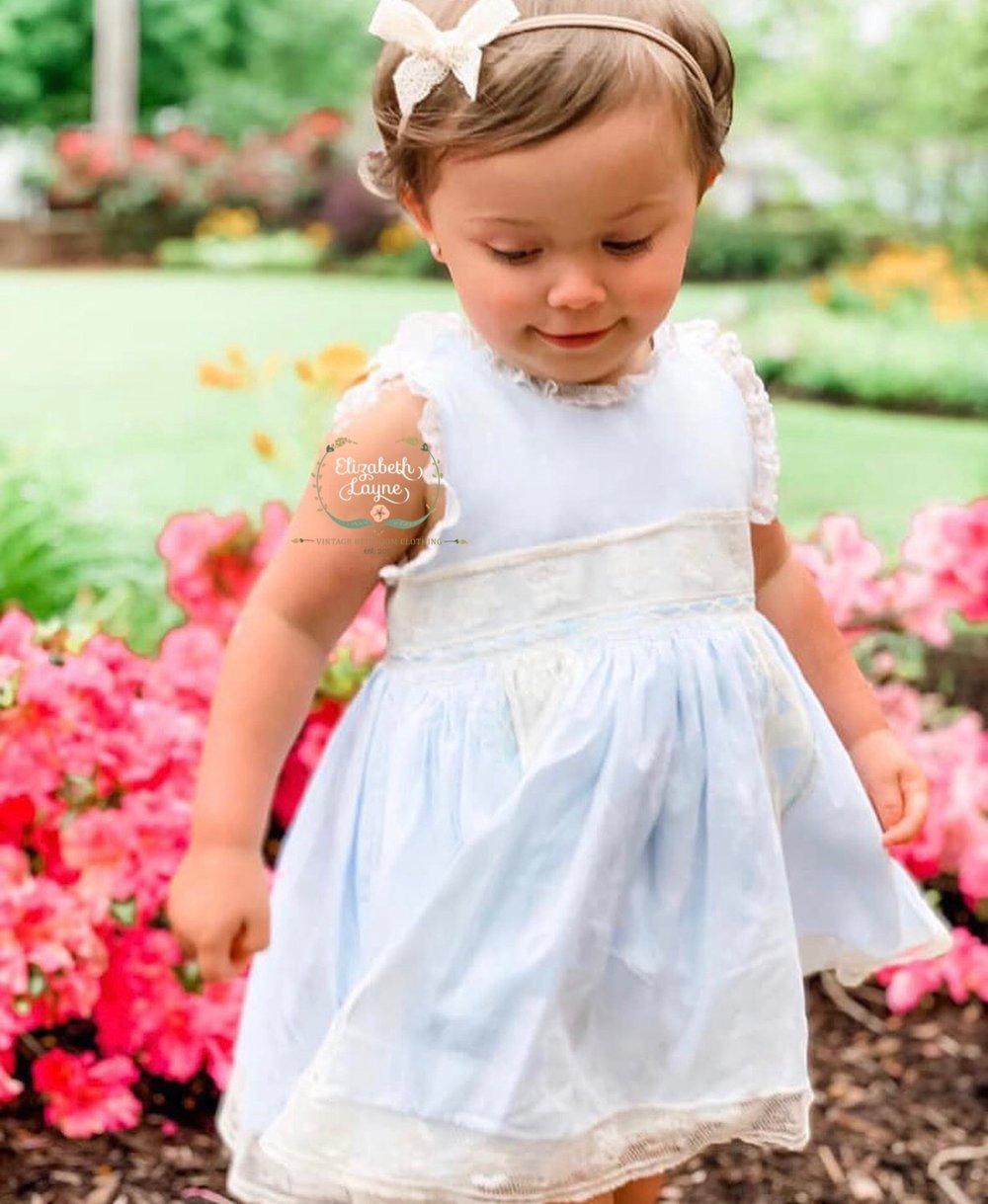 "Image of The ""Princess"" Heirloom Dress"