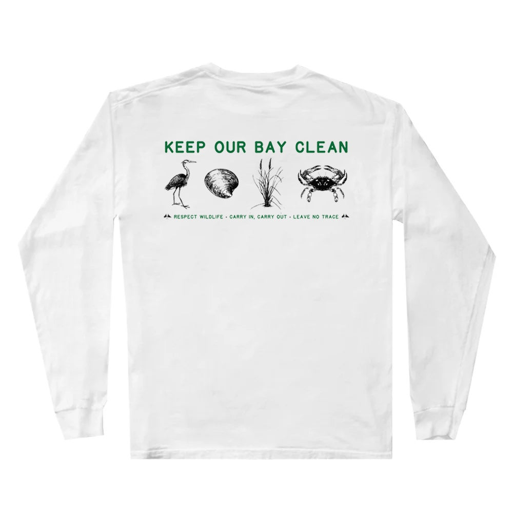 Image of Keep Our Bay Clean Long Sleeve