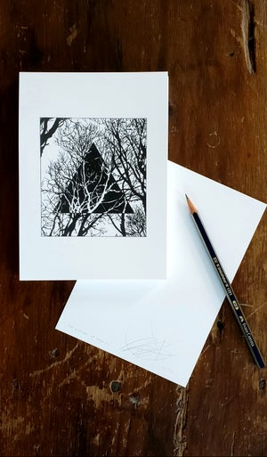 Image of The Nature of Reality - Print of an original pen and ink drawing