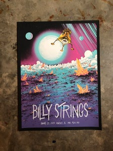 Image of Billy Strings Jan. 23 2020 poster