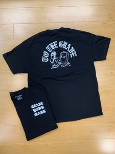 "Image of Leave Your Mark ""To the Grave""  Tee Shirt"