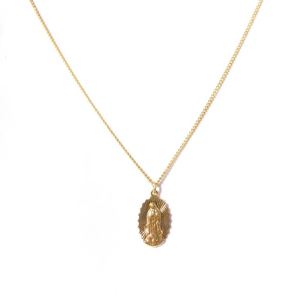 Image of Virgin Mary Light Necklace