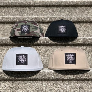 Image of Leave Your Mark Shop Snap Back Hand Style Hat