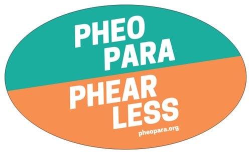 Image of Pheo Para Phearless Sticker