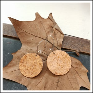 Image of Large Distressed Copper Disk