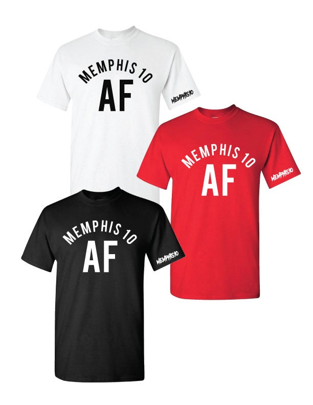Image of Memphis 10 AF Graphic Tee - Multiple Color Options