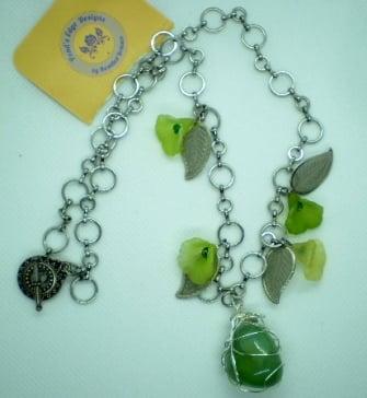 Image of Spring Leaf Necklace