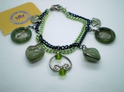 Image of Study in Jade Bracelet