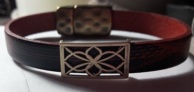 Image of Red Leather Bracelet