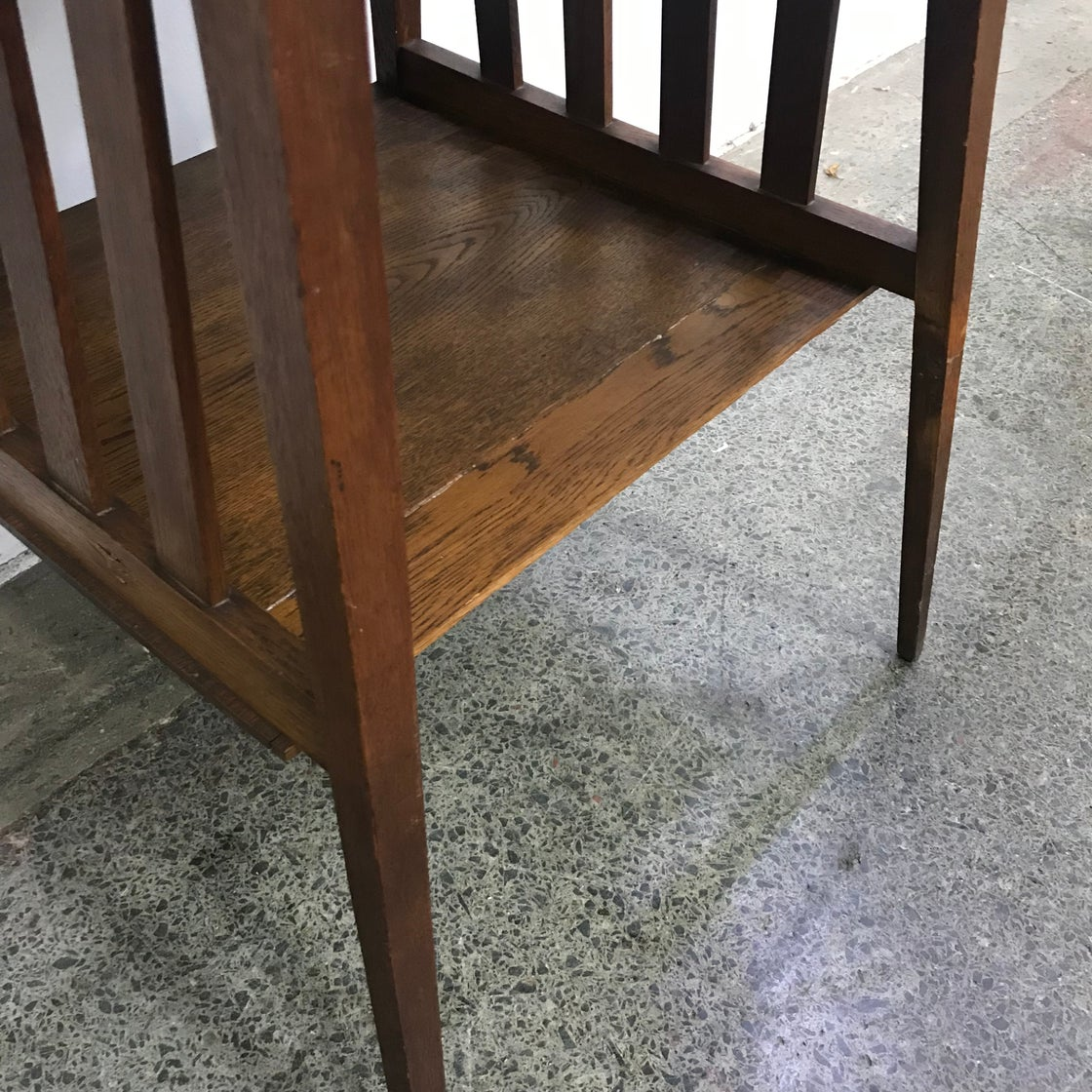 Image of OAK OCCASIONAL TABLE