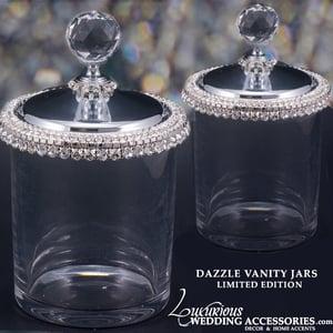 Image of Dazzle Swarovski Crystal Vanity Jar