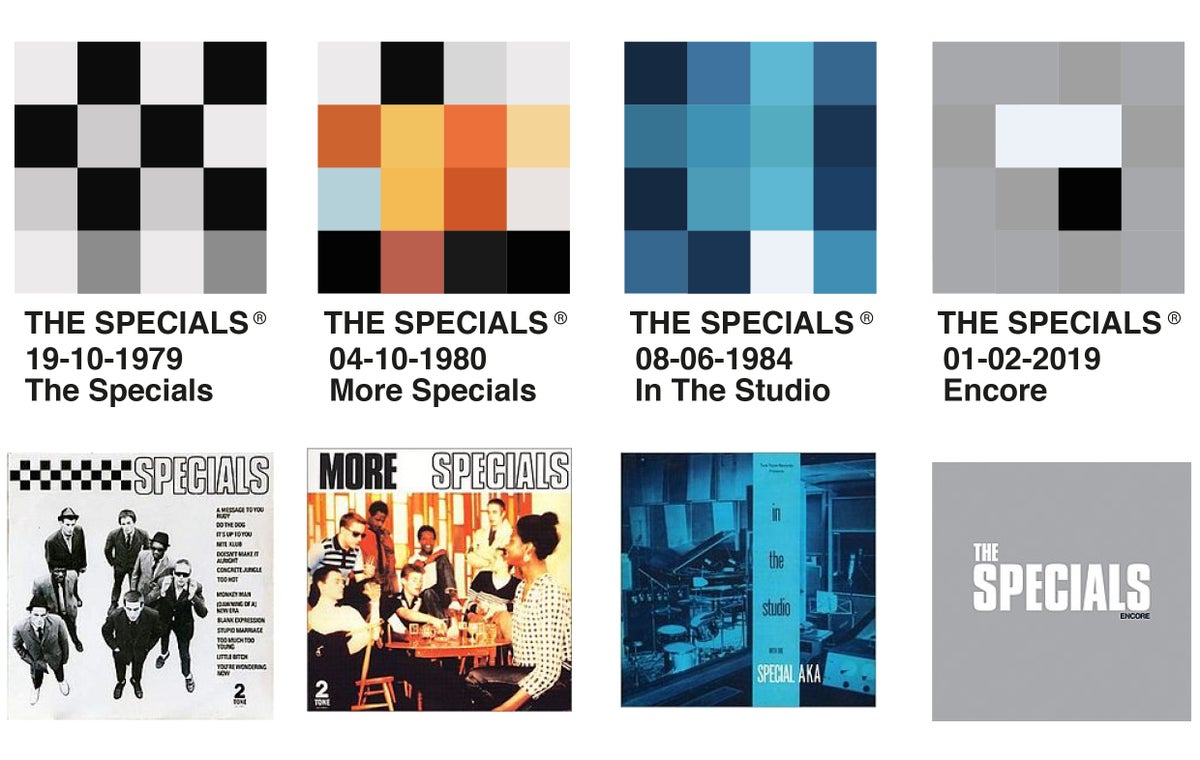 Image of The Specials - PixelPantone