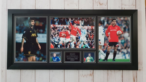 Image of XL signed Eric Cantona peice