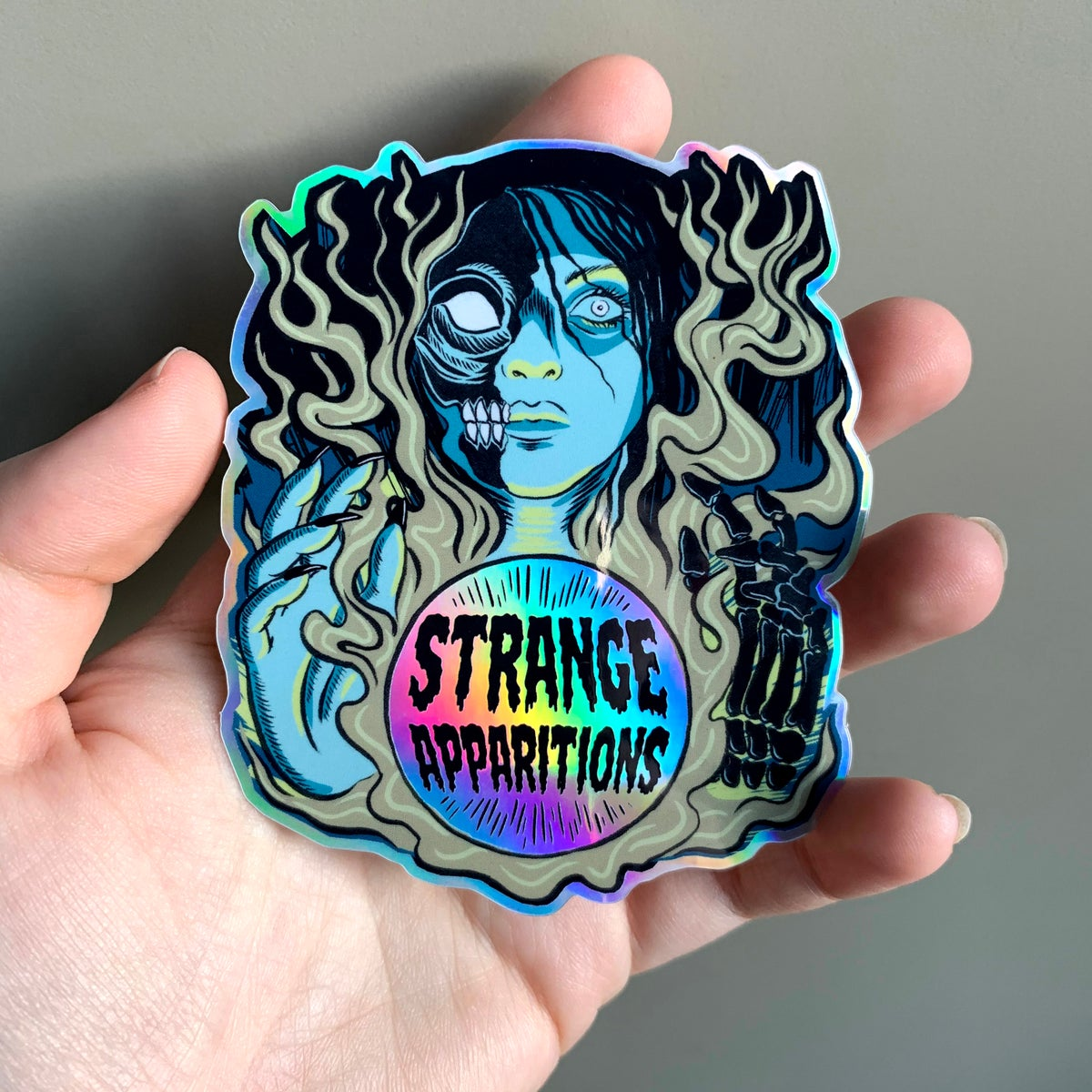 Image of Strange Apparitions Holo Sticker