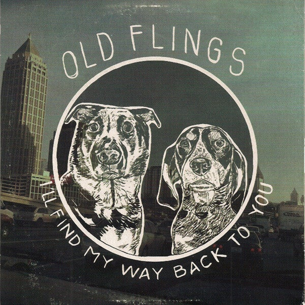 Image of Gameface / Old Flings ‎– Split vinyl record