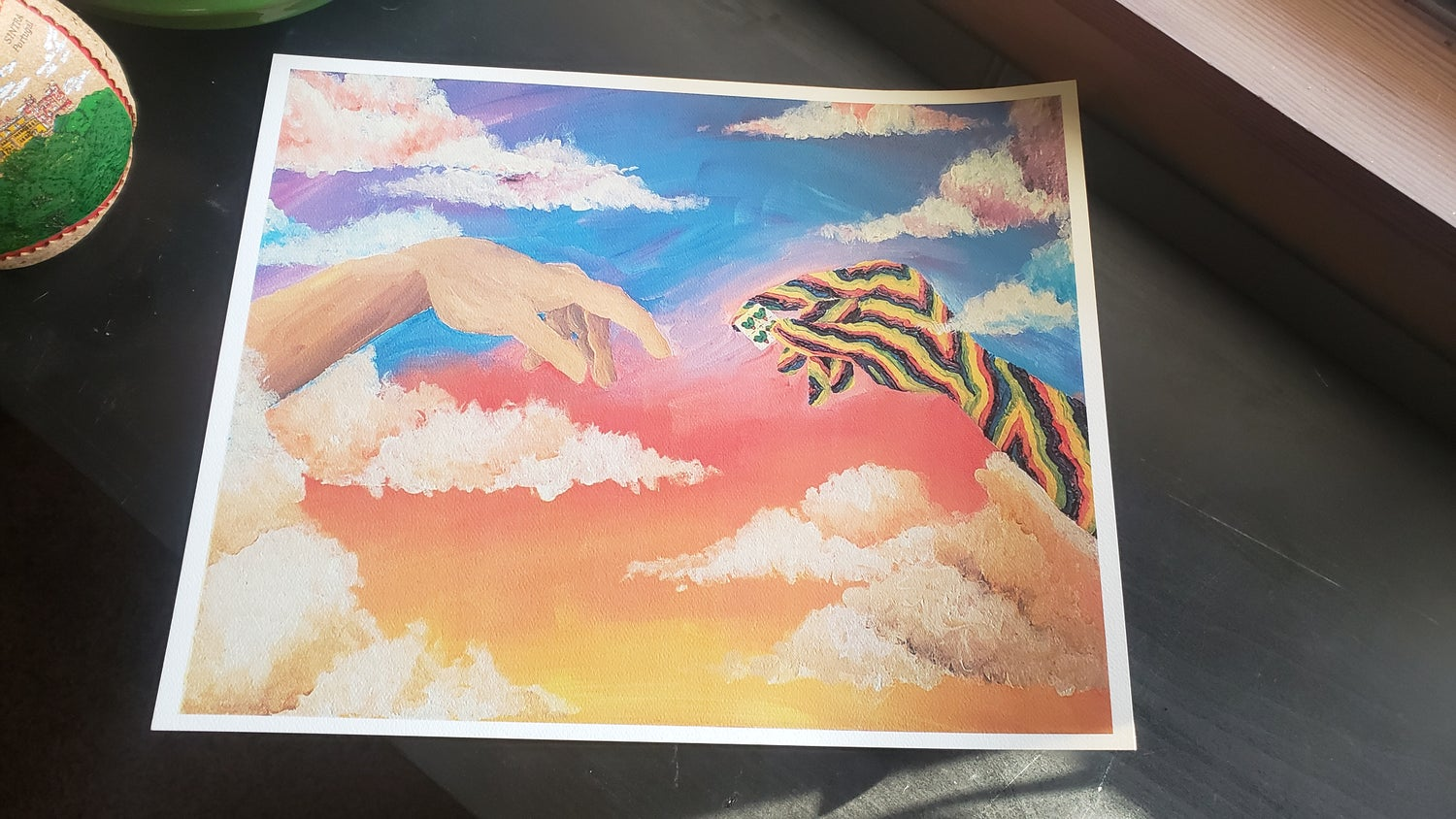 Creation of Lucy print