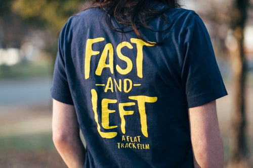 Image of Fast & Left - The Tire tee