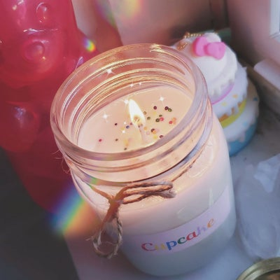 Image of Cupcake soy candle (tall)