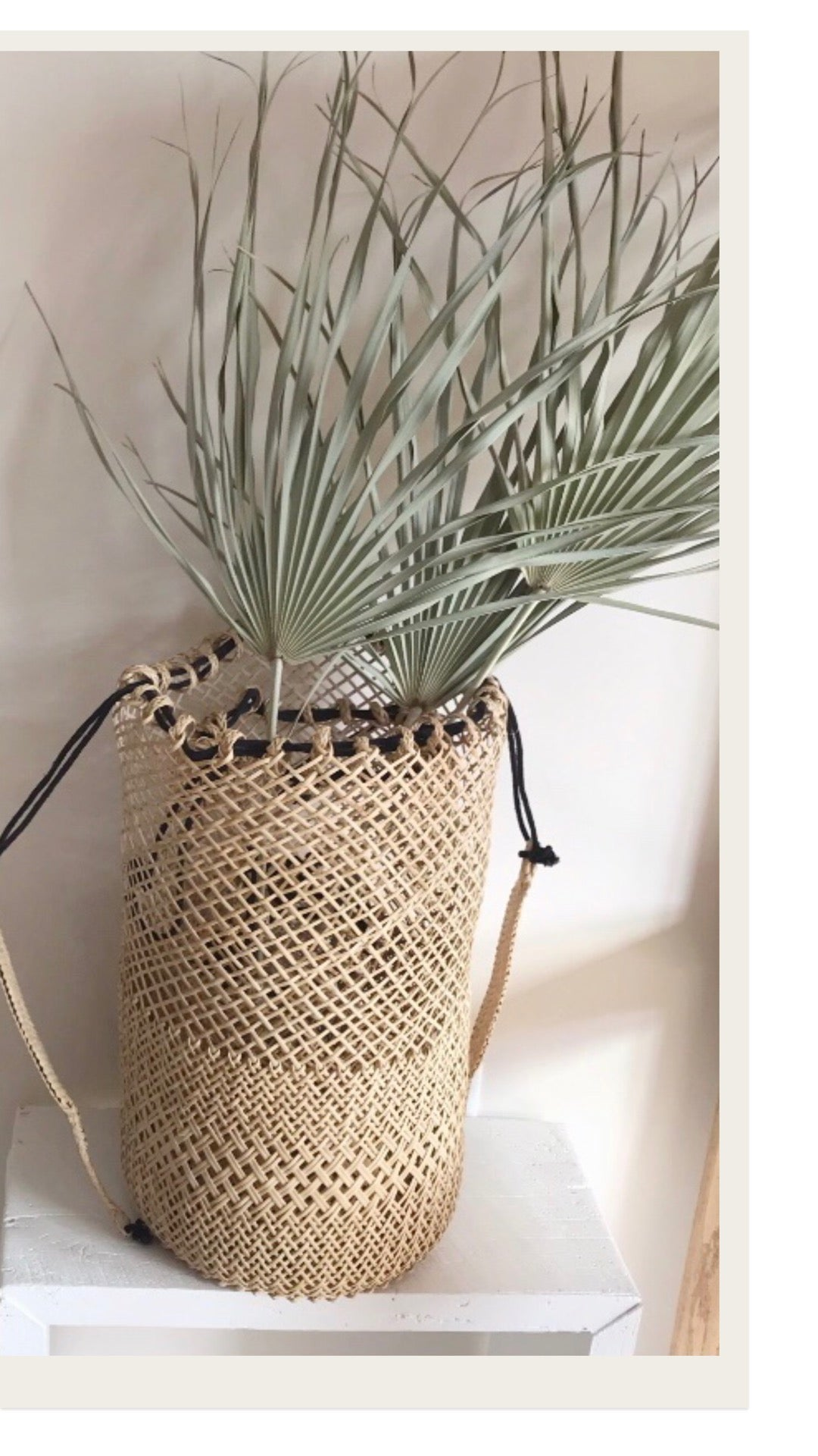 Image of Island Backpack - Large with Black String