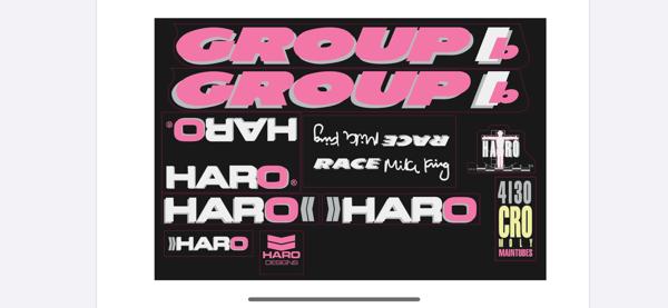Image of Haro Group 1 1989 Mike King