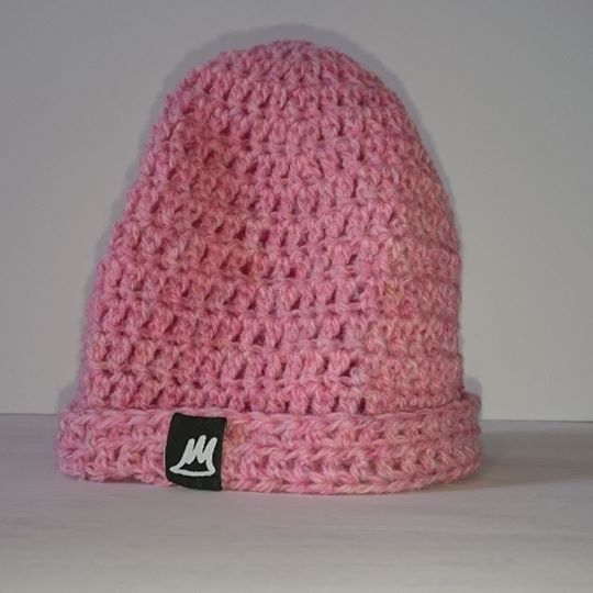 Image of Pink Lemonade Wool Beanie