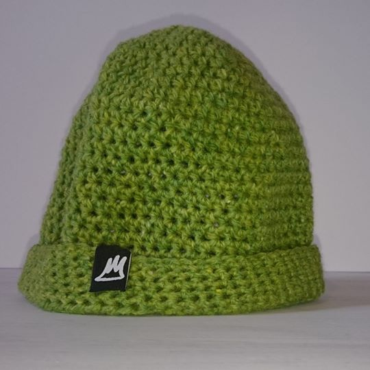 Image of Green Grass Wool Beanie