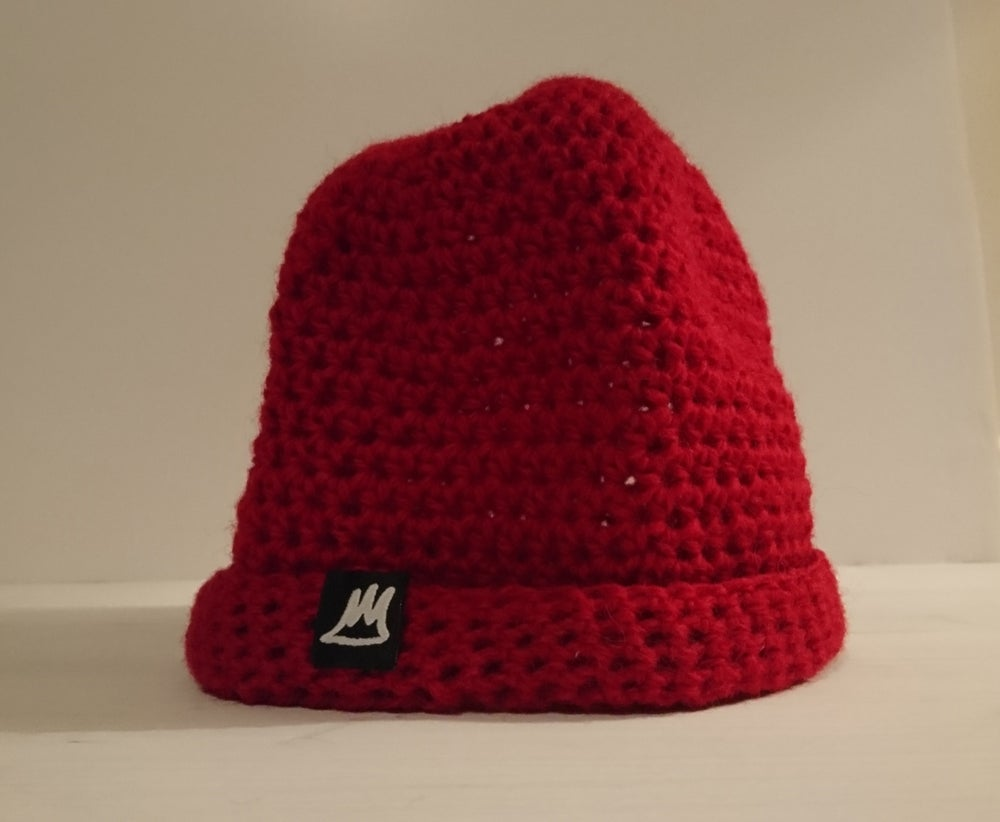 Image of Suzanne Red Wool Beanie