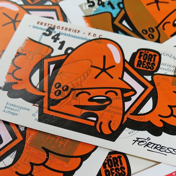 Image of FDC Wingman Orange / print