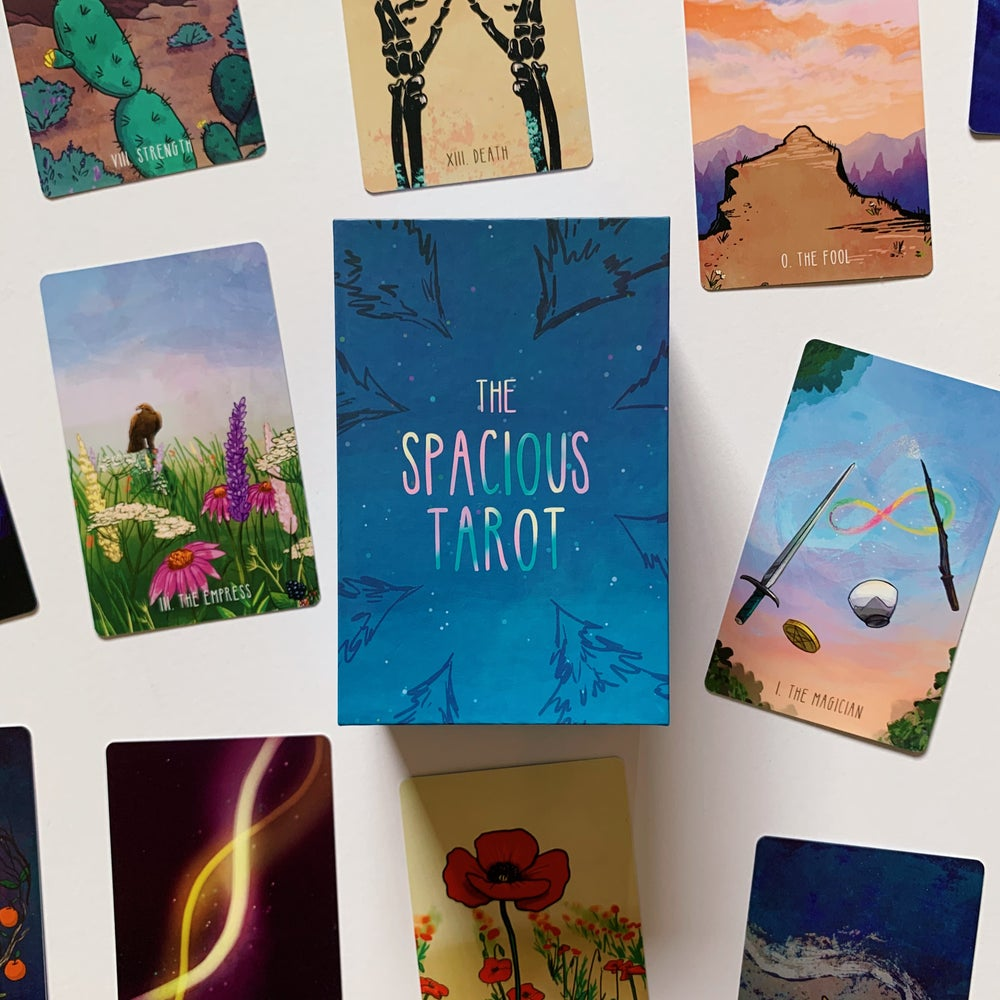 Image of Spacious Tarot Second Edition Pre-Order