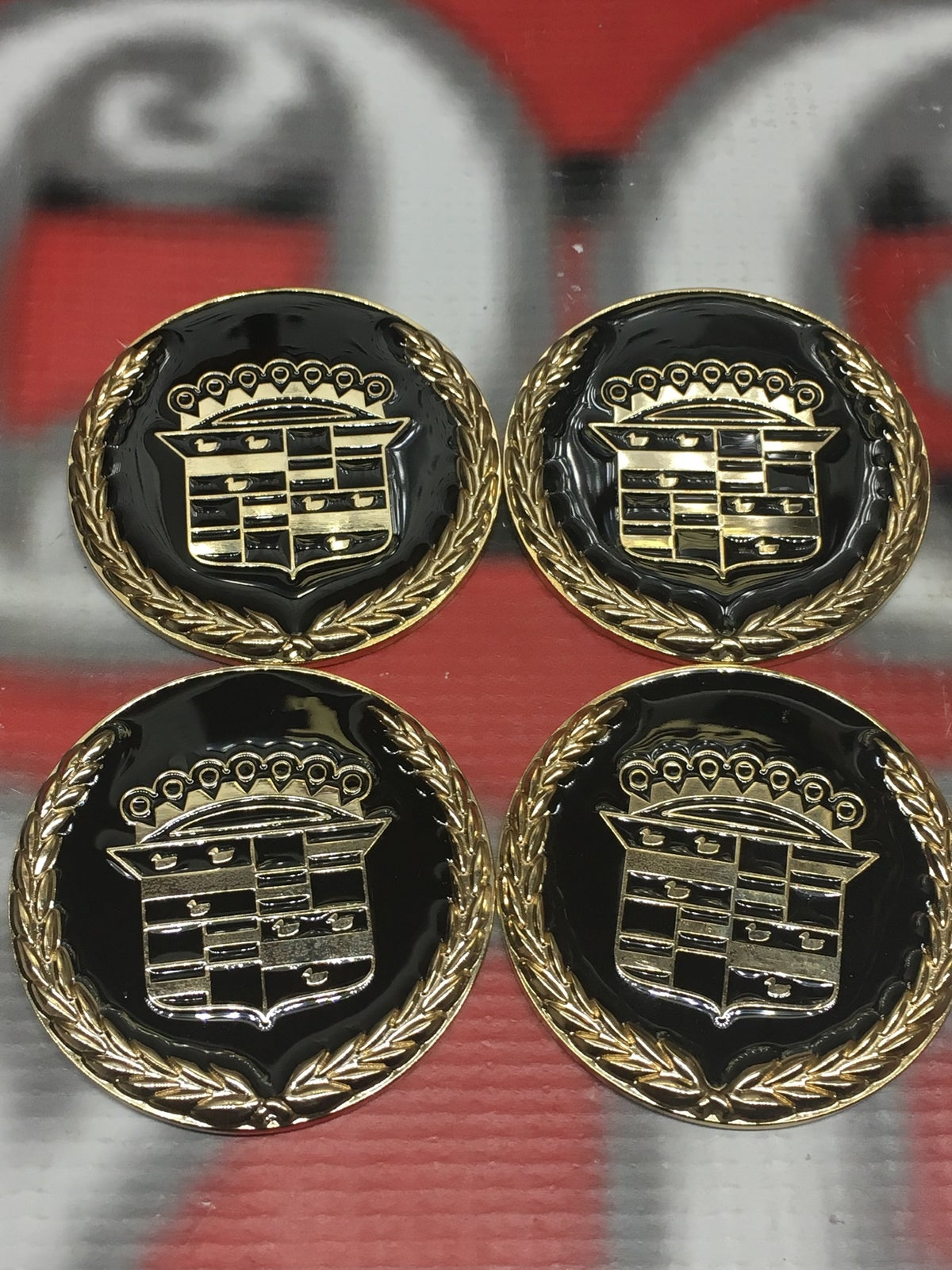 Image of Cadillac black and gold