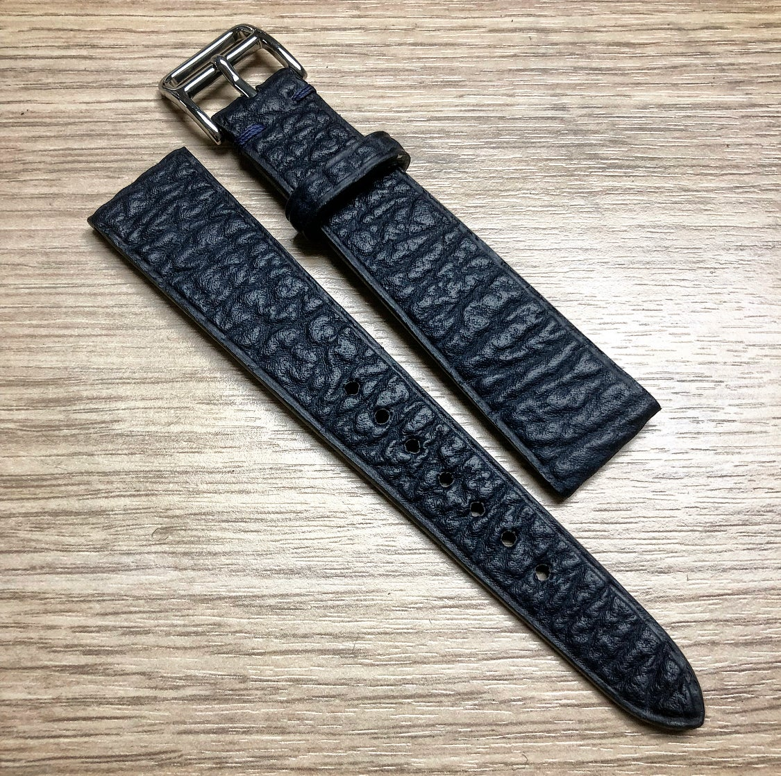 Image of Blue Shark watch strap
